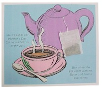 MOTHER'S DAY ART & CRAFT – TEA POT CARD