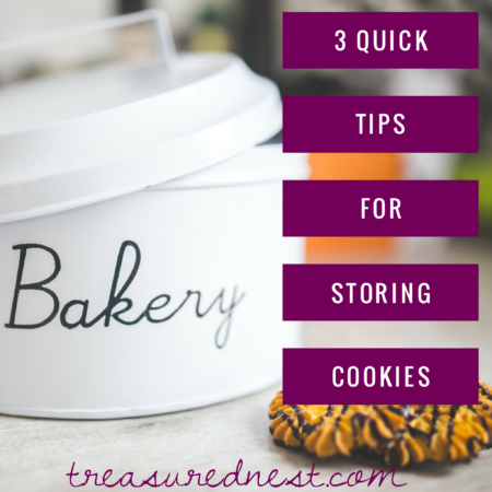 3 QUICK TIPS FOR STORING COOKIES