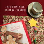Free Printable Holiday Planner Pages