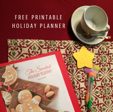 Free Holiday Planner Printable