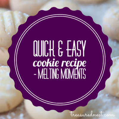 Quick & Easy Cookie Recipe – Melting Moments