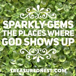 Sparkly Gems - God's Goodness - TreasuredNest